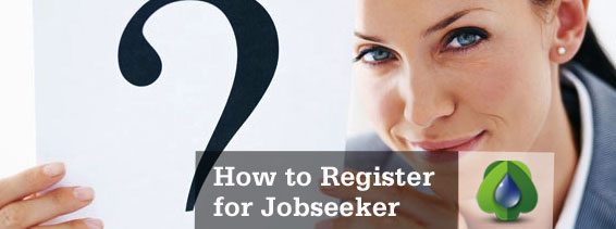 How Jobseeker register standard way