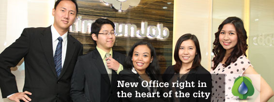 Rimbun Job Agency - New Office