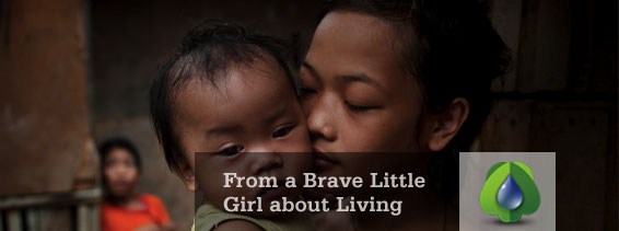 RimbunLOVE - From a Brave Little Girl about Living